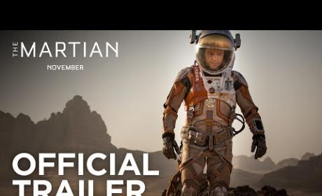 The Martian Trailer: Matt Damon Gets Spacey!