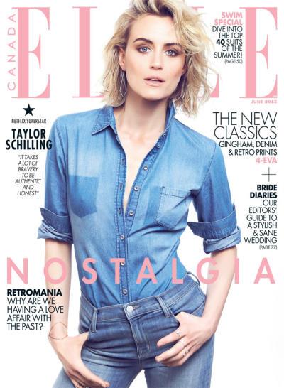 Taylor Schilling Elle Cover