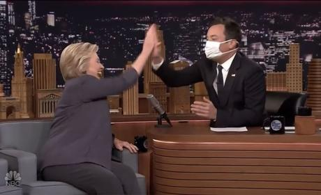 Jimmy Fallon Interviews Hillary Clinton, Part 1