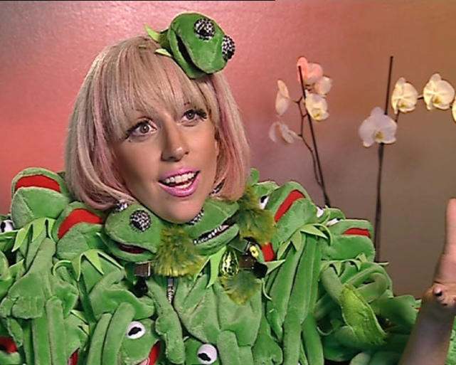 Lady Gaga the Muppet