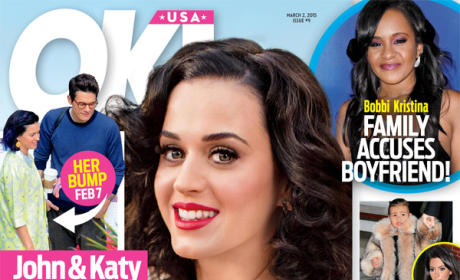 Katy Perry: OK! Magazine Cover