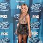 Carrie Underwood at American Idol finale