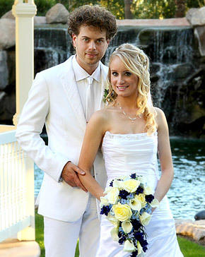 Scott MacIntyre Wedding Pic
