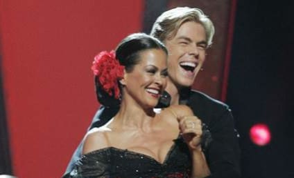 Broke Burke and Derek Hough Receive Perfect Score, Fight