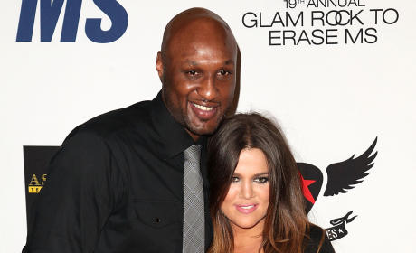 Khloe Kardashian: LYING About Lamar Odom's Health Improvements?!
