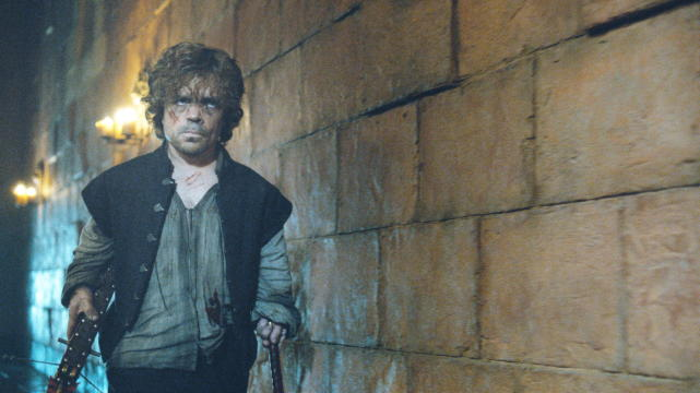 Tyrion with a Crossbow