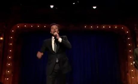 Jimmy Fallon and John Krasinski Hold Lip-Sync Contest