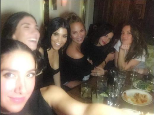 Kourtney Kardashian parties with Chrissy Teigen, Jenna Dewan-Tatum and Minka Kelly