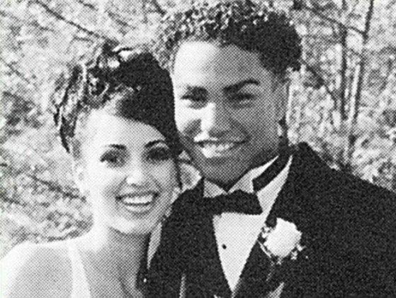 Kim Kardashian Prom Photo