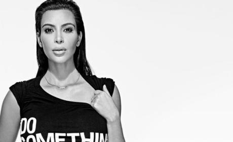 "Kim Kardashian and Kanye West ""Do Something"" for Charity"