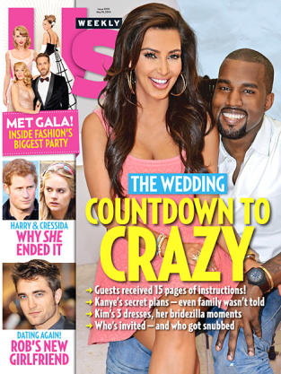 Kimye Us Weekly Cover
