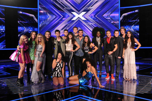 The X Factor Finalists