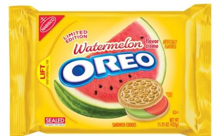 Watermelon Oreos: Actually a Thing!