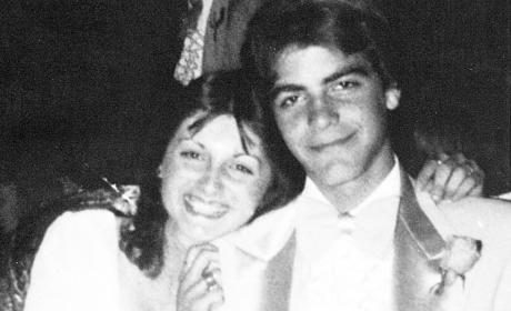 George Clooney Prom Photo