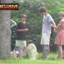 Taylor Swift Accompanies Conor Kennedy to Grave of Mother