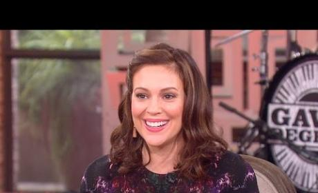 Alyssa Milano on The Talk