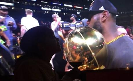 Rihanna: LeBron is Bae