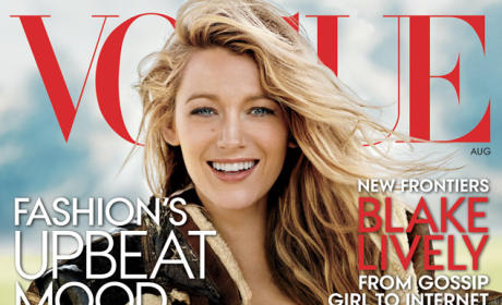 Blake Lively Vogue Cover: Gossip Girl Turned Wild West Chic!