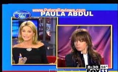 Paula Abdul Drunk