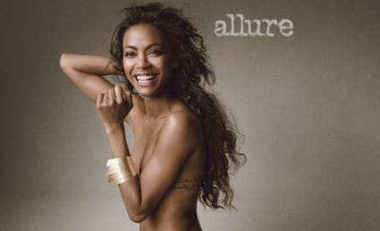 "Zoe Saldana Gets Naked in Allure, Describes Self as ""Androgynous"""