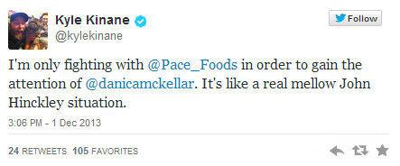 Kyle Kinane Pace 19