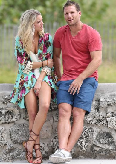 Juan Pablo Galavis and Nikki Farrell