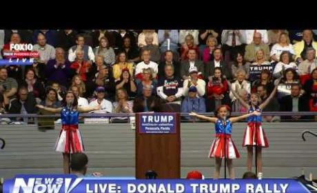 Donald Trump: Listen To My Patriotic Jam, It's Got Freedom Girls