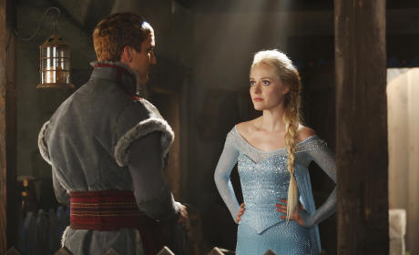 Georgina Haig as Elsa on Once Upon a Time: First Look!