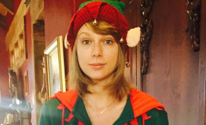 Taylor Swift Dresses as Elf, Wins Christmas