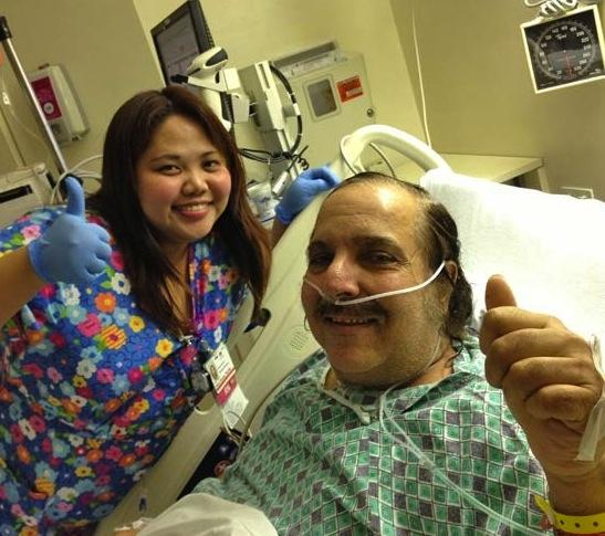 Ron Jeremy Hospital Pic