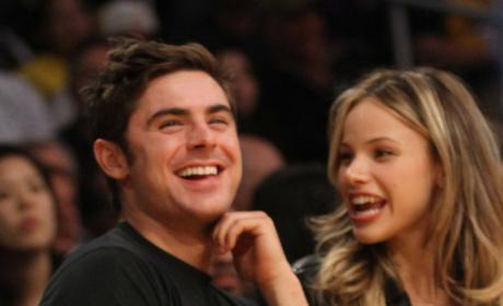Halston Sage and Zac Efron Image