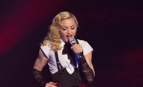 Madonna at O2 Arena