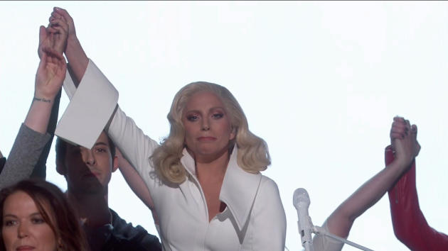 Lady Gaga at the Academy Awards