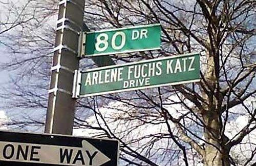 Arlene Fuchs Katz Dr.