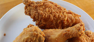 Would you eat chocolate-flavored fried chicken?