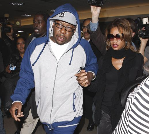 Bobby Brown at LAX