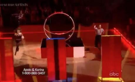 Apolo Anton Ohno - Dancing With the Stars Semifinals (Big Top Jazz)