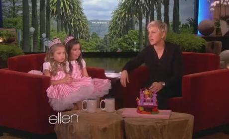 Sophia Grace & Rosie - I Knew You Were Trouble (Live on Ellen)