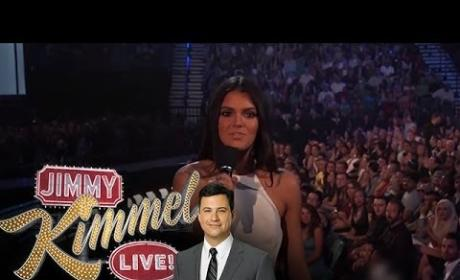 Jimmy Kimmel Mocks Kendall Jenner, Presents The Kendall E-Reader