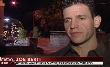 Man Witnesses Boston Marathon Bombing and Texas Plant Explosion