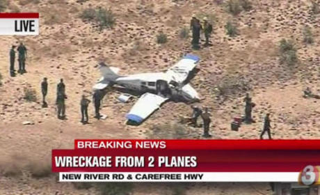 Planes Collide Above Arizona, 4 People Killed