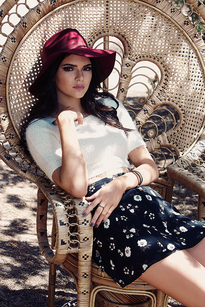 Kendall Jenner for Pacsun