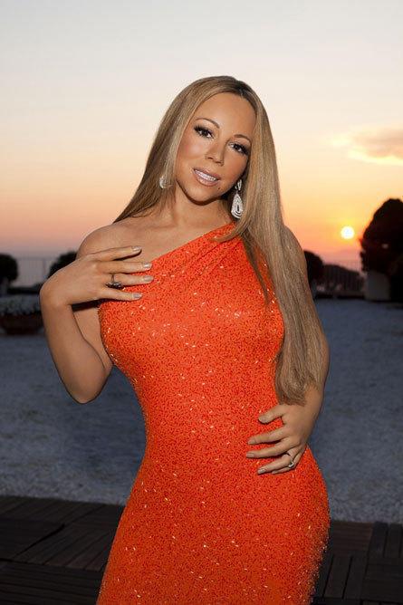 Mariah Carey American Idol Promo Pic