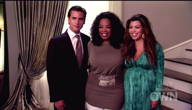 Oprah, Scott and Kourtney