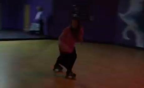 Michelle Duggar Roller Skating Video