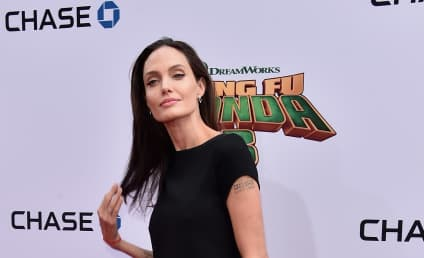 Angelina Jolie: So Frail From Divorce Drama!