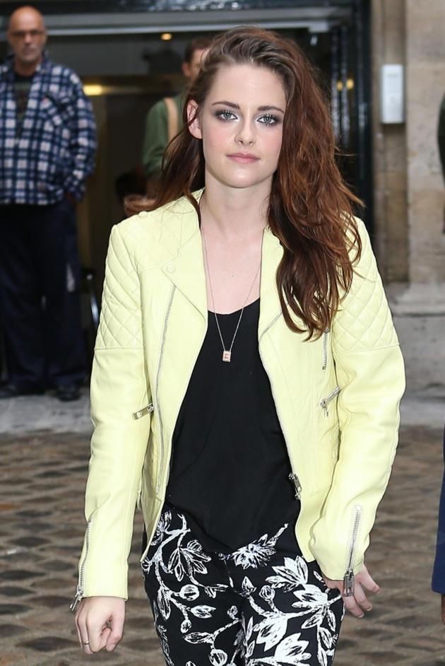 Kristen Stewart During Fashion Week