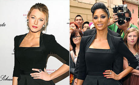 Fashion Face-Off: Blake Lively vs. Nicole Scherzinger