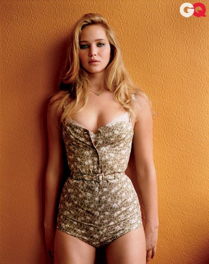 Jennifer Lawrence in GQ