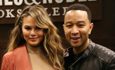 Chrissy Teigen & John Legend Welcome Baby Girl!